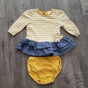 Cat & Jack 3-6 Months Outfit